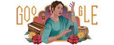 The illustration celebrates the the classical singer famous for her renditions of ghazal, nazm and other classical forms