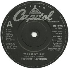 You Are My Lady by Freddie Jackson