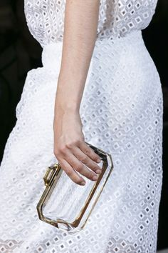 stella mccartney , SS 2013 - love the clutch!