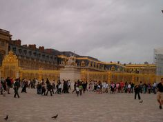 I visited the palace of Versailles and it truly is a beautiful palace.