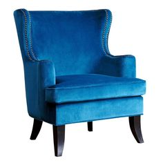 Burnard Fabric  Wingback Chair