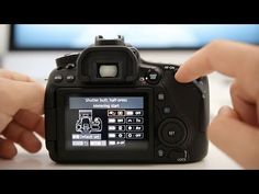 Canon 80D Tutorial - How to set up Back Button Autofocus