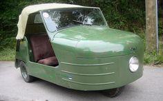 SMZ S-1L / S-3L - trójkołowy pojazd, microcar