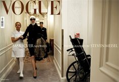 Makeover Madness, Vogue Italia July 2005