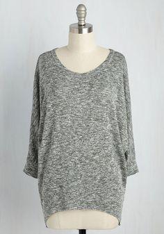 Sports Rapport Top in Sage | Mod Retro Vintage Short Sleeve Shirts | ModCloth.com