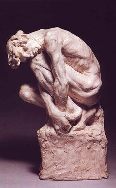 "camille Claudel : "" L'homme accroupi "" 1886 -  Coll. part."