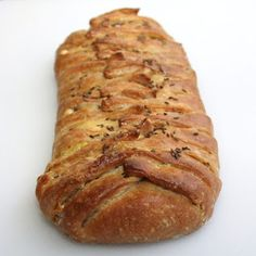 Rye Danish pastry - like puff pastry - wrapped around Reuben sandwich ...