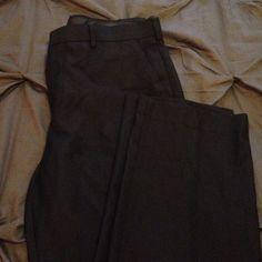 NWOT Modern Fit Black Trousers NWOT Men's black dress pants. Size 33x32. Flat front, straight leg. Apt. 9 Pants Trousers