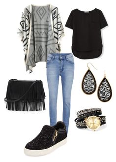 """Untitled #126"" by kmysoccer on Polyvore featuring Chicnova Fashion, MANGO, Cheap Monday, Ash and White House Black Market"