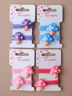 party bag filler ideas... toadstool bobble ponies