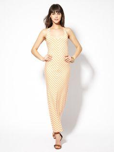 Jersey Knit Adrienne Panel Dress by Torn by Ronny Kobo on Gilt