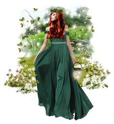 """Irish beauty"" by joyfulmum ❤ liked on Polyvore featuring art"