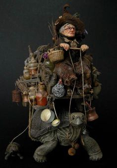 Fantasy | Whimsical | Strange | Mythical | Creative | Creatures | Dolls | Sculptures | Julien Martinez - Artist Dolls: