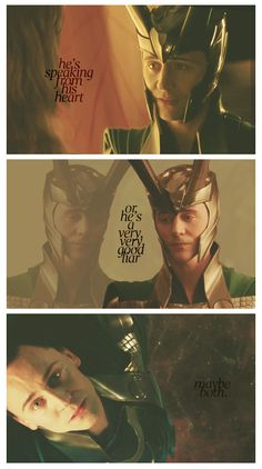 How much I like Loki makes me reconsider my own character, which I presume is a good thing.