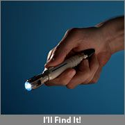 10th doctor's screw driver! Doctor Who Sonic Screwdriver LED Flashlights :: ThinkGeek