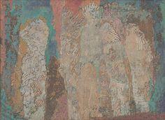 maliarstvo, obraz závesný, datovanie: 1969, rozmer: výška 40.0 cm (obr.pl.spredu) x šírka 54.5 cm  x 54.5 cm x 69.0 cm (rám)