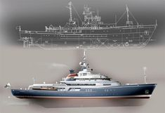 Distinctive custom designs for luxury motor yachts, residences, architectural interiors, and graphic design. Yatch Boat, Expedition Yachts, Motor Yachts, Maui Travel, Deck Plans, Yacht Design, Super Yachts, Aircraft Carrier, Battleship