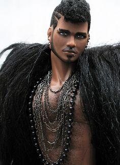 Custom OOAK Fashion Royalty Ken - Male Doll Make Over Fredrik by Peewee Parker, via Flickr