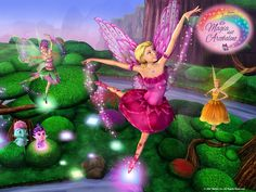 Magic Of The Rainbow Wallpapers Barbie Movies