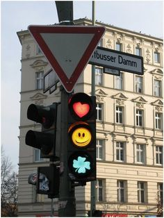 Kreuzbergers are playful and a bit headstrong >> Cute Traffic Lights in Berlin Berlin Paris, Berlin Street, Berlin City, Berlin Germany, Berlin Band, Graffiti, Street Art, Urbane Kunst, Traffic Light