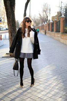 Um bom casaco te salva em qualquer ocasião, aposte nos atemporais modelos estruturados! Foto: Seams For A Desire / Reprodução
