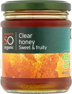 Sainsbury's Organic Clear Honey (340g)