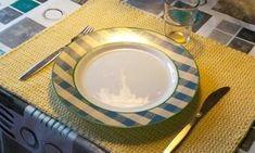 Virkade bordstabletter. ©Gumman