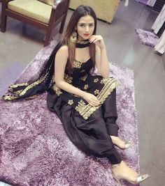 Call 00971563848260 Indian Escorts in Dubai now you can meet Call girls in Dubai unforgettable date with your desire Indian Model Escorts in Dubai Contact Escorts Edge Agency. Black Punjabi Suit, Black Pakistani Dress, Punjabi Dress, Latest Punjabi Suits Design, Indian Designer Suits, Indian Attire, Indian Wear, Indian Outfits, Patiala Suit Designs