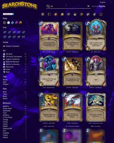 tl;dr: I'm releasing a search engine for Hearthstone called Searchstone.