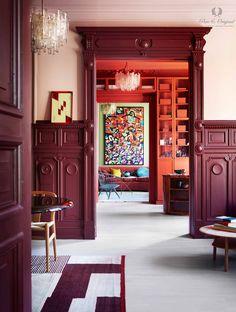 Dit appartement in Oslo is één en al kleur- Elle Nederland Elle Decor, Color Inspiration, Interior Inspiration, Traditional Paint, Interior Decorating, Interior Design, Color Interior, Living Room Pictures, Colorful Interiors