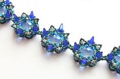 Over the Top - trytobead. A beautiful bracelet by Sabine Lippert
