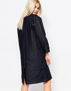 Monki Denim Coat