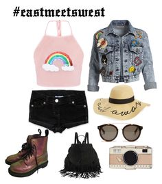 """Festival Fun"" by annmari394 on Polyvore featuring Alice + Olivia, Dr. Martens, BP., STELLA McCARTNEY, Kate Spade and eastmeetswest"
