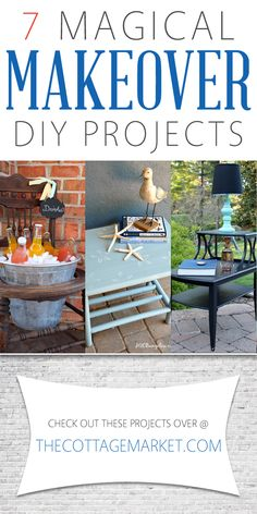 7 Magical Makeover DIY Projects - The Cottage Market