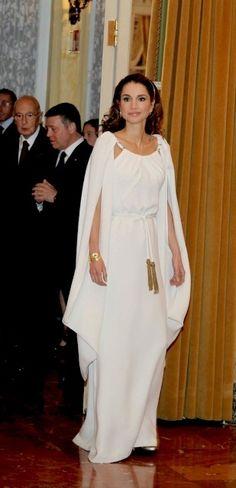 Haute Arabia's Women of Arabia, Style Stakes. No.2 Queen Rania