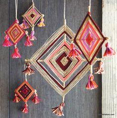 Roost God's Eye Ornaments – Modish Store