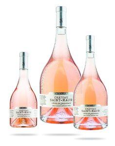 Un rosé élégant dans une bouteille majestueuse #LeFashionPost #PatrickTomas #Webzine #Lifestyle #Gastronomie #Vin #Rosé #ChâteauSaintMaur