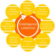 roue du processus de l'intelligence collective Intelligence Collective, L Intelligence, Management Tips, Project Management, Blog Coaching, Ways Of Learning, Community Manager, Design Thinking, Human Resources