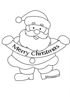 Merry Christmas Santa Claus Picture