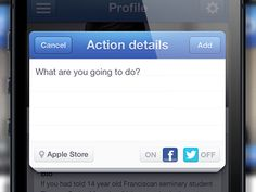 iPhone modal form designed by Virgil Pana. Mobile Watch, Mobile Ui, User Interface, Ui Design, Ios, Apple, Templates, Iphone, Inspiration