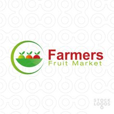 Farmers Fruit Market - #logo #brand #sale #farming #farmer #fruit
