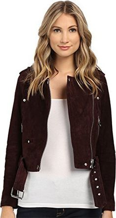 [BLANKNYC] Size Chart Kickstart your high-octane chic with this killer [BlankNYC]™ moto jacket. Modern moto jacket silhouette with asymmetrical zip and cropped length. Morning After is a faded, burgundy red wash on soft, napped cow suede. Snap-down lapel. Snap-button watch pocket. Zip hand p...  More details at https://jackets-lovers.bestselleroutlets.com/ladies-coats-jackets-vests/casual-jackets/product-review-for-blanknyc-blank-nyc-womens-burgundy-suede-moto-jacket-in-m