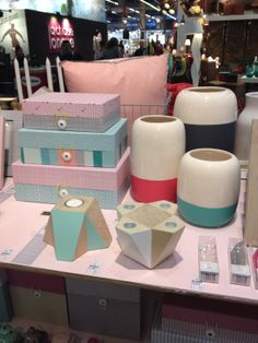 Collection 2104 tout en pastel pour Present time #mo14 #presentime #pastel #deco #maison #home