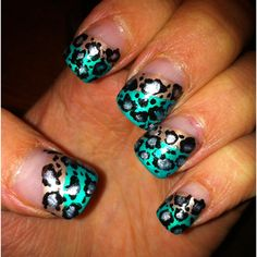 Turned up Tiffany color and cheetah (: