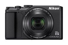 Nikon COOLPIX Digital Camera Think you have to give up great photos and videos to travel light? The versatile Nikon COOLPIX … Camera With Flip Screen, Wifi, Nikon Digital Camera, Nikon Cameras, Slr Camera, Digital Slr, Point And Shoot Camera, Cameras For Sale, Black