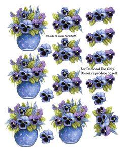 Papel De Arroz Para Decoupage Scrapbooking Vintage Rosas A4 ITD R1119