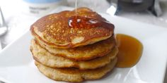 This easy gluten-free pancake recipe means that you don't have to miss out this Pancake Day. Victoria Glass shares her recipe for mouth-watering banana pancakes, which use rice flour for a light and fluffy, yet gluten-free batter.
