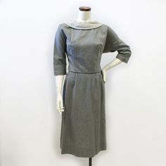 '50s Wiggle Dress Gray, $78, now featured on Fab.