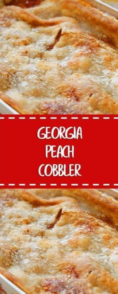 Much like my mom's peach cobbler! Georgia Peach Cobbler - Hot From My Oven Fruit Recipes, Sweet Recipes, Baking Recipes, Cake Recipes, Dessert Recipes, Healthy Recipes, Recipies, Potluck Desserts, Nutella Recipes