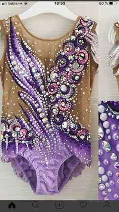 Rhythmic Gymnastics Costumes, Gymnastics Suits, Baton Twirling Costumes, Dance Costumes, Aerial Costume, Figure Skating Dresses, Dance Outfits, Costume Design, Dance Wear